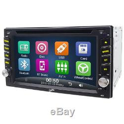 For Ford 6.2'' 2Din CD DVD Player Car Radio Stereo Bluetooth Touch Screen GPS BT