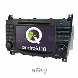 For MERCEDES BENZ C CLK W203 W209 GPS 7 Android 10.0 Radio DVD Car Stereo NAVI