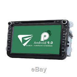 For VW Golf Mk5 Mk6 4Core Car Dash Stereo DVD GPS Android-Style User Interface W