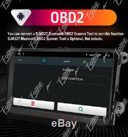 For VW Volkswagen Tiguan Android 8.0 WiFi 2DIN Radio GPS 9 Car NO DVD Player BT