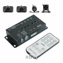 Full Surround View HD Car Dash Camera Recorder Image Splitter DVR with 7 Screen