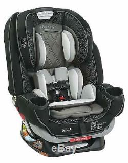 Graco 4Ever Extend2Fit Platinum 4-in-1 Car Seat in Hurley New! Free Shipping