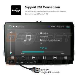 HD 9inch Head Unit Android8.1 GPS Navigation Car Stereo DAB+Radio WIFI 4G for VW