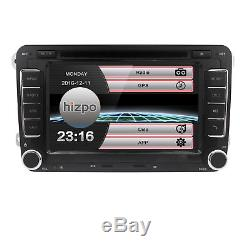 HIZPO for VW Jetta Passat Golf 7 HD Touch Car Stereo GPS DVD Player Radio SD