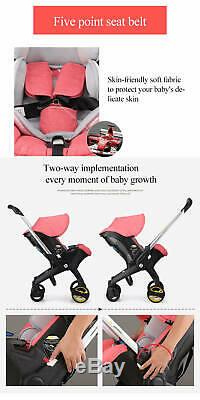 Infant Car Seat Stroller Combos 4 in 1 for new born, light weight for travel