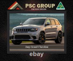 Jeep Grand Cherokee Waterproof, Uv Treated, Wetsuit Front Car Seat Covers