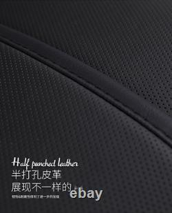 Luxury Leather Non-slip Seat Cover Cushion 5-Seat For Car Interior Accessories