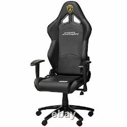OMP Automobili Lamborghini Collection Racing Seat Office Chair In Black