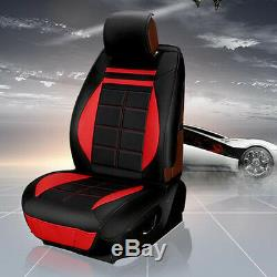 PU Leather Car Seat Covers Interior Accessories Full Set For Car Seat Protectior