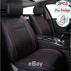 Pu Leather Car Seat Cover Fit for Dodge Charger Challenger Demon Durango Journey