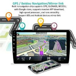 Quad-Core Android 9.1 9 Double 2DIN Car Stereo Radio GPS Navigation DAB OBD2