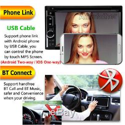 Sony Lens 6.2 Touch 2DIN Car DVD Player Radio Stereo Audio +Cam For Mazda 2 3 5