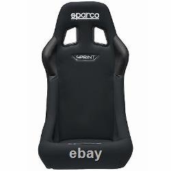 Sparco Sprint Rally/Race Car FIA Approved Bucket Seat Standard Size Black