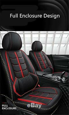 Standard Edition PU Leather Car Seat Covers Full Interior Set Auto Accessories