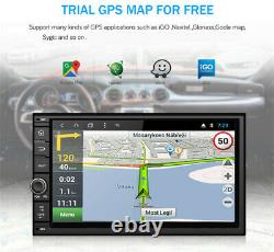 Touch Screen 7IN 2 DIN Android 8.1 Car Stereo Radio GPS Navigation MP5 Player