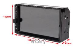 Touchscreen Car Stereo Radio 2DIN Mirror for GPS Wifi IOS MP5 Player with Camera