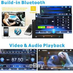 Touchscreen Car Stereo Radio Double 2 DIN GPS Wifi USB Player with Backup Camera