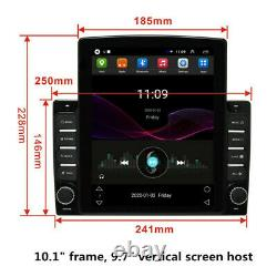 US 10.1in Android 8.1 Quad-Core Car Stereo Radio GPS Nav Wifi Mirror Link Player