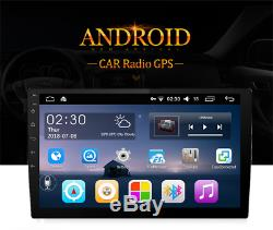 Universal Android 6.0 10.1 Double Din Touch Pad 1+16G Car Stereo Radio GPS Wifi